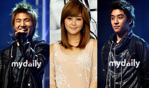 Dae Sung, Solbi, Seung Ri
