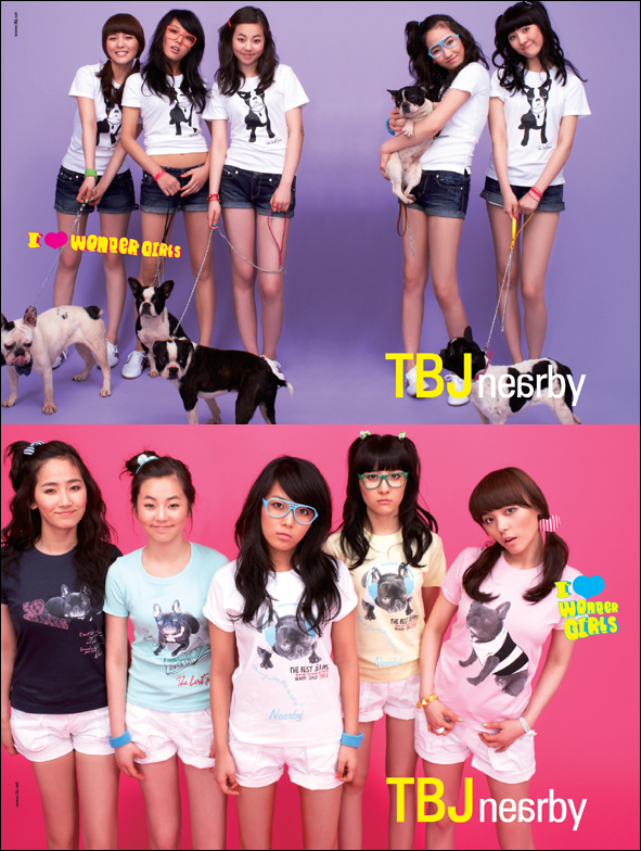Wonder Girls for TBJ