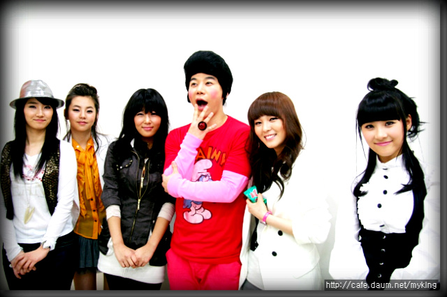 Wonder Girls and My King @ Music Core