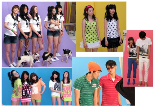 Wonder Girls 2008 Summer TBJ Photoshoot