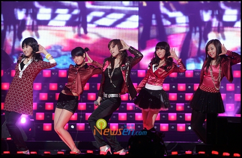 Wonder Girls on stage once again in 2008