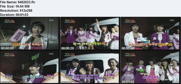 Wonder Girls on Happy Shares Company 080503