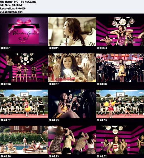 Wonder Girls So Hot MV