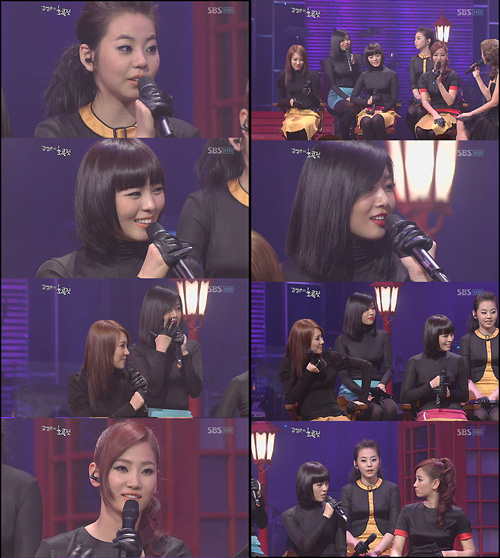 Wonder Girls on Kim Jung Eun Chocolate