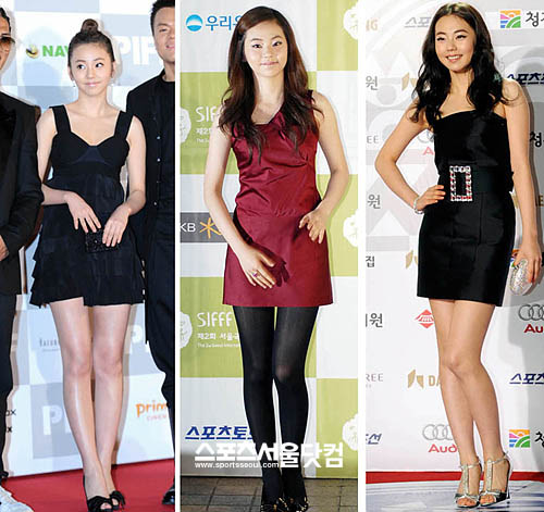 So Hee has already walked 3 red carpets at the age of 16