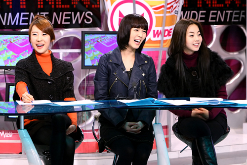 Sun Mi, Sun Ye and So Hee