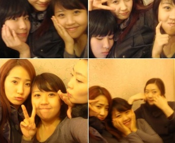 Ye Eun and friends