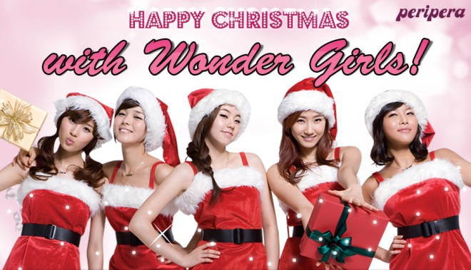 Peripera Happy Christmas with Wonder Girls