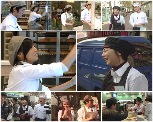 Wonder Girls Works for 1 Day at Crown Bakery shops