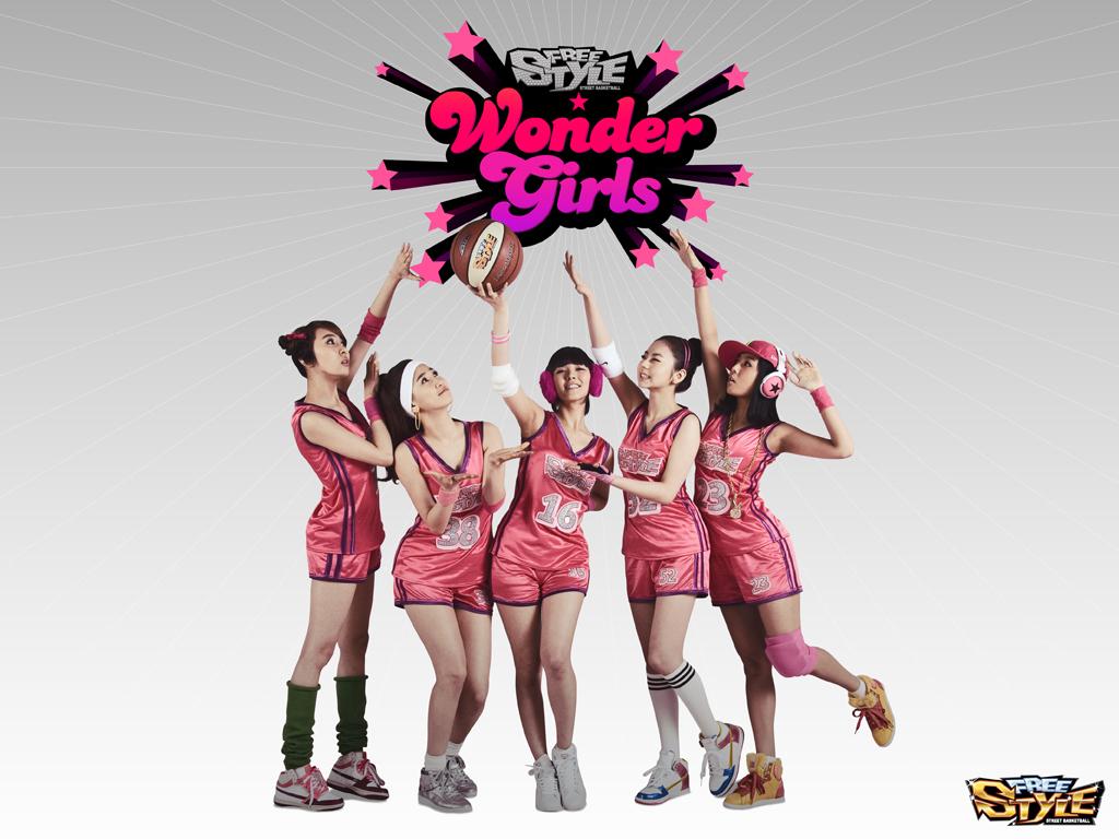 Wonder girls freestyle basketball wallpaper wonder girls - Basketball wallpapers for girls ...