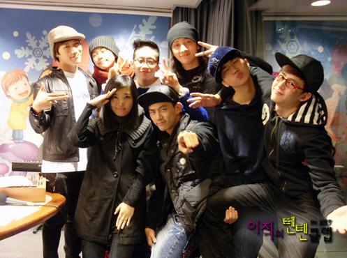 Yoo Bin and 2PM