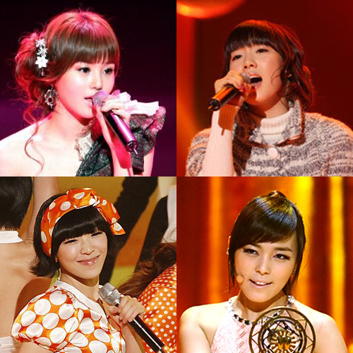 Nam Gyuri, Tae Yeon, Ga In, Sun Ye