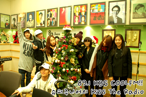Wonder Girls @ Kiss The Radio 081211