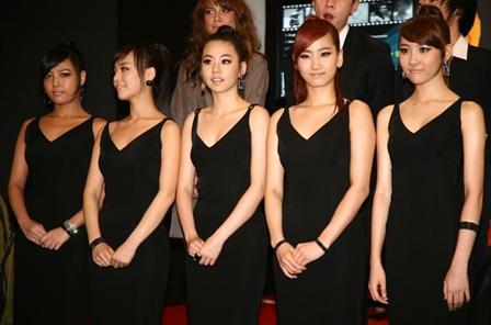 Wonder Girls Debuting in America